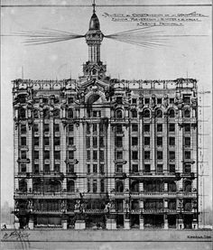 Historical Designs / Utopias / Monuments - Never built - Page 26 - SkyscraperCity