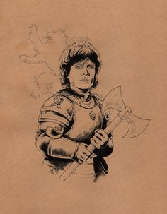 Tyrion Lannister / Game of Thrones Comic Art