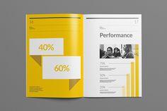 Brand Report on Behance