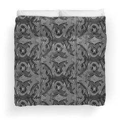 Antique Paisley Duvetcover#duvercover #grey, #vintage #paisley #art www.redbubble.com/people/claudiagill/shop