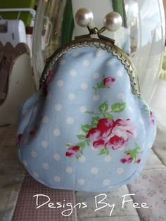 Coin Purse Tutorial Using Sew-In Frame