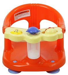 Dream on Me Baby Bath Seat - Orange