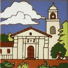 Historic Mission Collection- Mision Santa Cruz