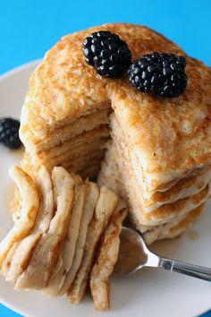 Best Ever Fluffy Vegan Pancakes