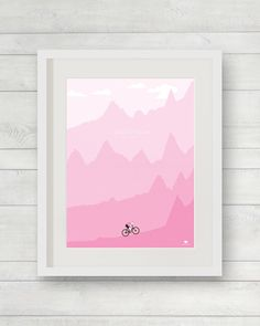 Here's a limited run premium print celebrating the 4 mountain finishes of the Giro. Incorporating the profile of Stages 15, 16, 19 and 20. ----...