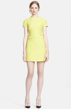 Valentino Bow Detail Crepe Minidress available at #Nordstrom $2350 but absolutely breathtaking