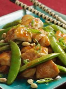 Healthy Sichuan Style Chicken with Peanuts! Great taste and flavor but healthy | eating well