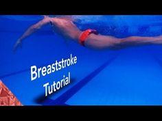 Breaststroke swimming technique tutorial. Part 2. Legs. - YouTube