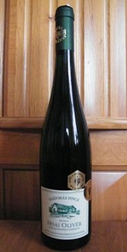 Hadobás Irsai Olivér 6,5 from 10. At this price this is a best buy wine.