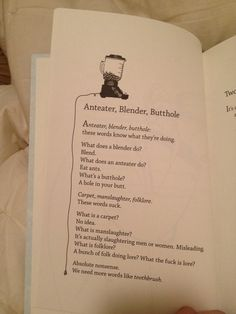 "Bo Burnham's ""Egghead"" poetry book"
