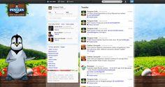 Penguen Gıda A.Ş. / Twitter Background Design