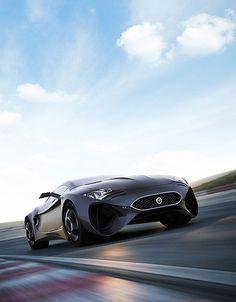 XKX Jaguar Concept, all-electric high-performance monster