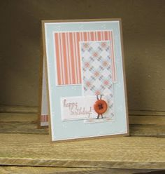 Here are a couple of clean and simple cards which would be suitable for men or anyone really. The first one uses Hobby House backing ca. Hobby House, Stamp Pad, Workshop, Paper Crafts, Frame, Cards, Picture Frame, Atelier, Tissue Paper Crafts