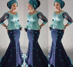 If there's one thing we can't get enough of its Nigerian fashionistas nailing their own personal style in timeless Aso-Ebi styles. Each week we bring you our Aso-Ebi style pick… African Lace Dresses, African Dresses For Women, African Wear, African Attire, African Fashion Dresses, African Women, African Skirt, African Outfits, African Style
