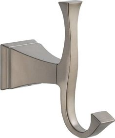 #Storage The clean lines and dramatic geometric forms of this #Dryden Brass Robe Hook in Stainless are based on style #cues from the Art Deco period. Getting read...