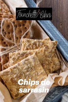 Découvrez notre recette de chips de sarrasin ! Calories, Chips Recipe, Drizzle Cake, Healthy Recipes, Buckwheat
