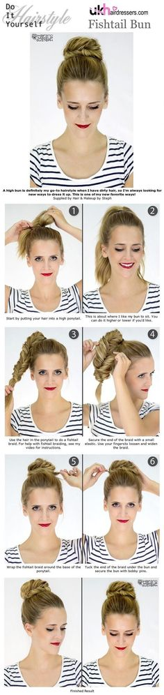 Love Easy bun hairstyles? wanna give your hair a new look ? Easy bun hairstyles is a good choice for you. Here you will find some super sexy Easy bun hairstyles,  Find the best one for you, #easybunhairstyles #Hairstyles #Hairstraightenerbeautynhttps://www.facebook.com/hairstraightenerbeautyn