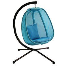 egg chair hammock   wayfair allen   roth texture neverwet cushion for deep seat chairs      rh   pinterest