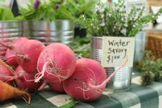 Amazing beets at the Ferry Building Farmers Market