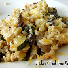 Chicken and Black Bean Casserole Recipe