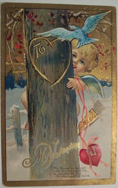 All sizes | Vintage Valentines Day Postcard | Flickr - Photo Sharing!