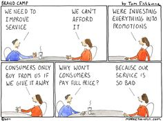 Marketoonist is the thought bubble of Tom Fishburne. Marketing cartoons, content marketing with a sense of humor, keynote speaking. Small Business Marketing, Social Media Marketing, Service Marketing, Resident Retention, Customer Service Training, Customer Experience, Thought Provoking, The Funny, The Book