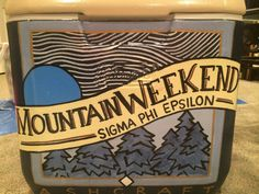 Mountain Weekend Cooler