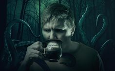 Cthulhu inspiration. Lovecraftian investigator.