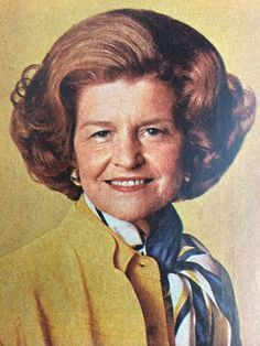 While she was First Lady, Betty Ford sat down with Good Housekeeping in 1976 to give a forthright interview about balancing life as a mother and a career. American First Ladies, African American History, List Of Presidents, Betty Ford, Nancy Reagan, Harriet Tubman, Important People, First Daughter, Women In History
