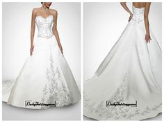 Beautiful Elegant Divine Satin Sweetheart Neckline Gall Gown / Wedding Dress In Great Handwork http://www.ckdress.com/beautiful-elegant-divine-satin-sweetheart-neckline-gall-gown-wedding-dress-in-great-handwork-p-1632.html  #wedding #dresses #party #Luckyweddinggown #Luckywedding #design #style #weddingdresses #bridaldresses #love #me #cute #beautiful #girl #shopping #lovely #clothes #instagood #follow #fashion