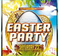 Happy Easter Flyer Templates  Party Flyer Templates For Clubs