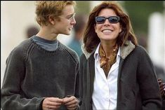Princess Caroline with youngest son, Pierre