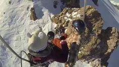 La snowboard cu GOPRO by Stelian Ilie