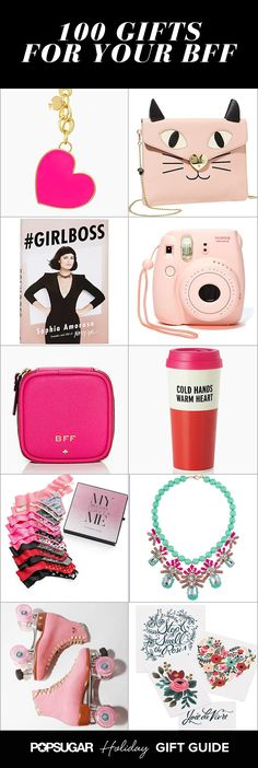 100 Gifts Your Best Friend Will Obsess Over