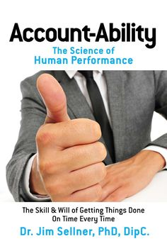 #promocave Books Account-Ability by Jim Sellner @MelodyMcKinnon The Science of Human Performance Organizations are desperately searching for ways to help people to contribute to the success and profitability of the enterprise.