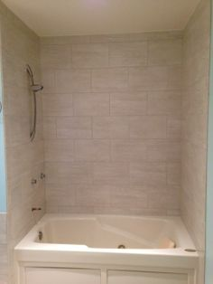 Tile tub/shower by Darrow's CarpetsPlus COLORTILE, Stanwood, WA. (360) 629-9604 www.carpetstanwood.com www.facebook.com/darrows.carpets Bathroom Renos, Bathrooms, Reno Ideas, Bathroom Interior Design, Shower Tub, Carpets, Shower Ideas, Tile, Bathtub