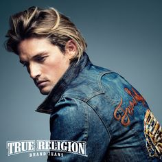 Ryan Heavyside Embodies American Style for True Religion Fall/Winter 2012 Campaign Big Boy Clothes, Free Clothes, Indie Fashion, Fashion Brands, Mens Fashion, Respect Women, Ladies Of London, True Religion Jeans, Jeans Brands