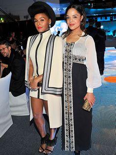 Favorite Female Duos - Janelle Monae + Tessa Thompson   allure.com