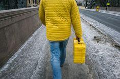 Pau Ll. Buscató - Oslo 2015 Contemporary Photographers, Street Photo, Oslo, Rue, Sweaters, Photographs, Colour, Yellow, Dresses