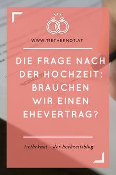 Für viele Paare gelten Eheverträge noch immer als unromantisch. Die Realität zeigt jedoch häufig ein anderes Bild. Denn auch wenn eine Ehe aus Liebe und Vertrauen geschlossen wird, so enden doch noch immer fast die Hälfte der Trauungen in Österreich und Deutschland mit einer Scheidung. Wir sagen euch, wann ein Ehevertrag sinnvoll ist und was ihr im Falle des Falles beachten müsst.