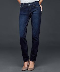 Shopping for jeans can be tough, here are the best jeans for women with big hips.his straight-leg style slims through the hips and thighs.  Gap Authentic 1969 Real Straight jeans, $70; gap.com