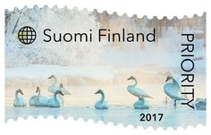 Posti Group Oyj (@Postigroup) | Twitter Going Postal, Swans, Stamp Collecting, Mail Art, Time Travel, Postage Stamps, Finland, Birds, World