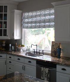 Cortinas modernas de cocina