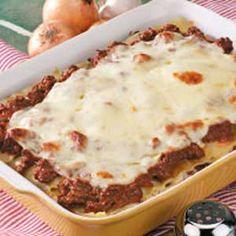 Lasagna Recipe Taste, Cheesy Lasagna Recipe, Cheese Lasagna, Taco Lasagna, Ravioli Lasagna, Seafood Lasagna, Skillet Lasagna, Baked Lasagna, Pizza Casserole