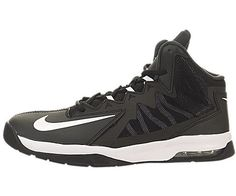 brand new a393a 82d33 Nike Kids Air Max Stutter Step 2 (GS) Black White Stealth Anthracite Basketball  Shoe 6 Kids US