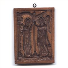 Annunciation cookie mold