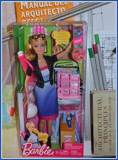 Architect Barbie by kenDollGT, via Flickr
