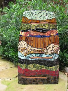 Mosaic Art II by CeCe Bode Mosaic fountain 4' This is one of my favorite…