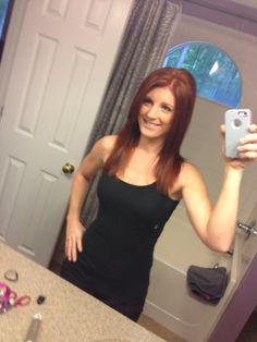 Fall hair. New do! Redhead