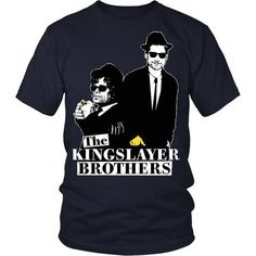 The Kingslayer Brothers TV & Movies T-shirt